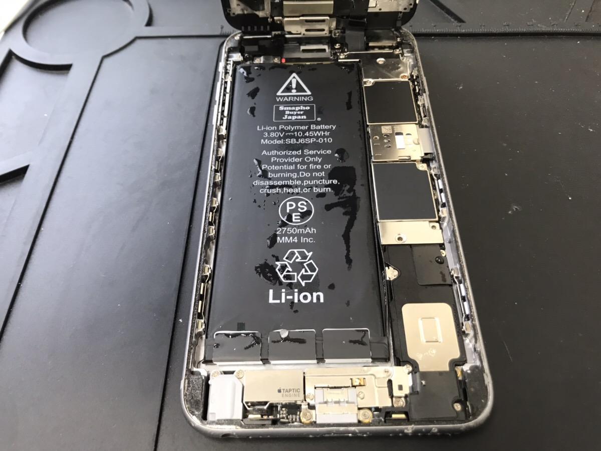 水没したiPhoneの中身