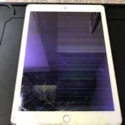 修理前のiPad Pro9.7インチ