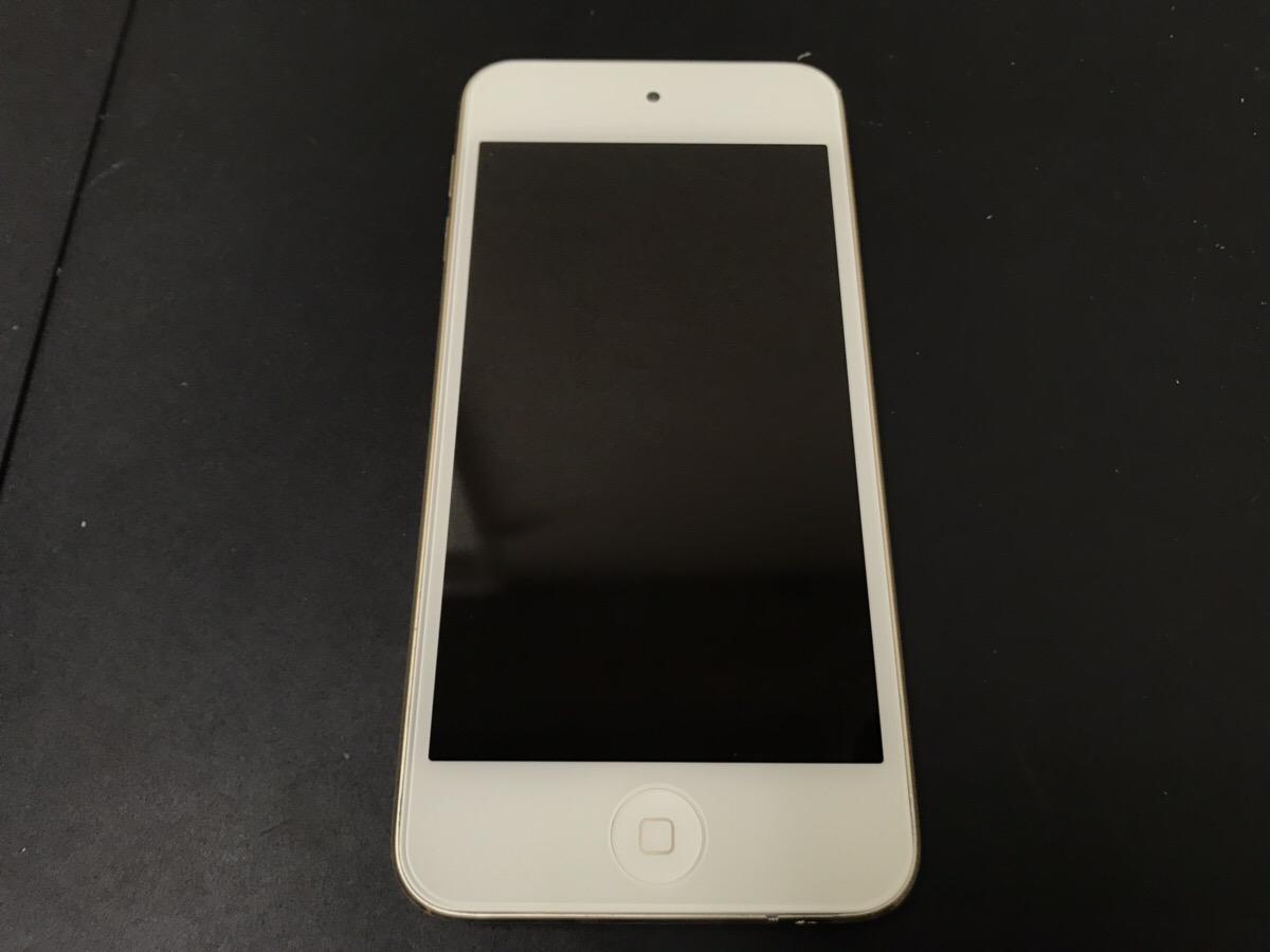 画面修理後のiPod Touch6