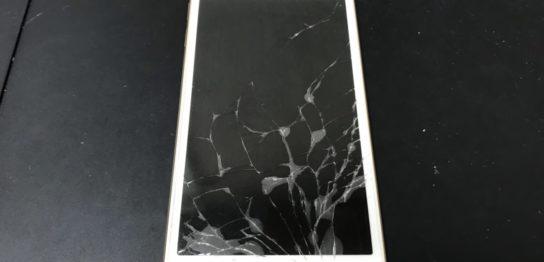 修理前のiPod Touch6