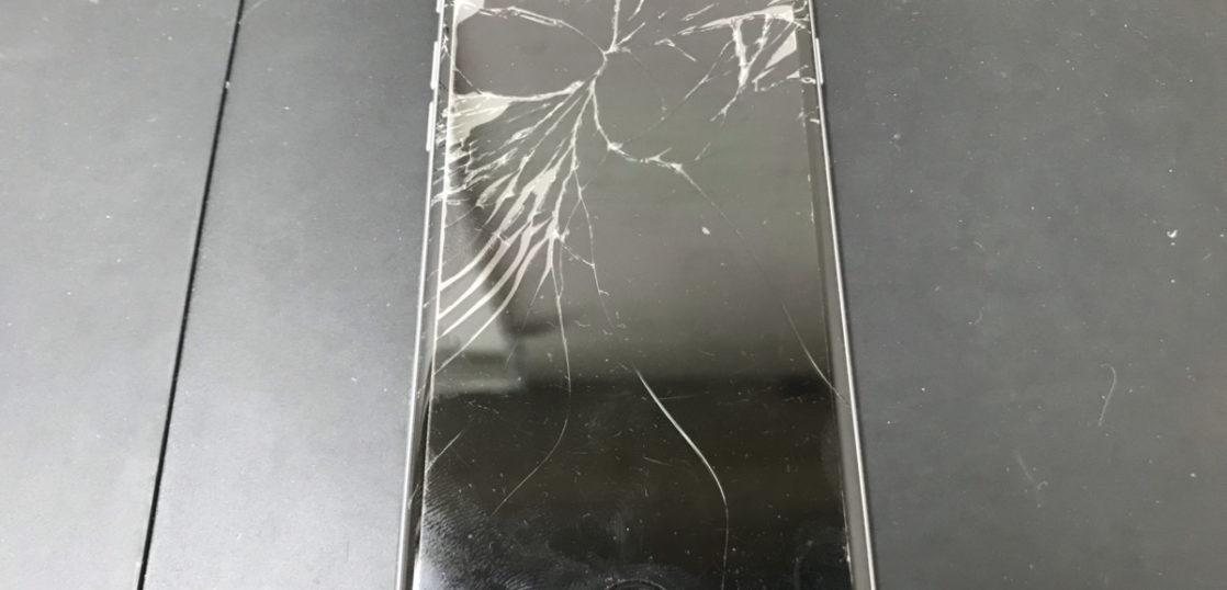 画面交換前のiPhone6s