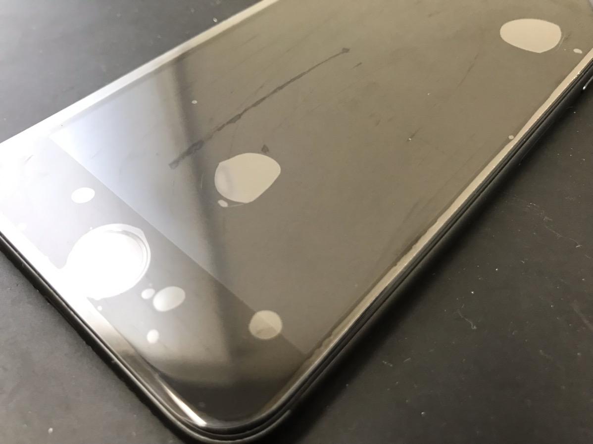 修理後のiPhone8
