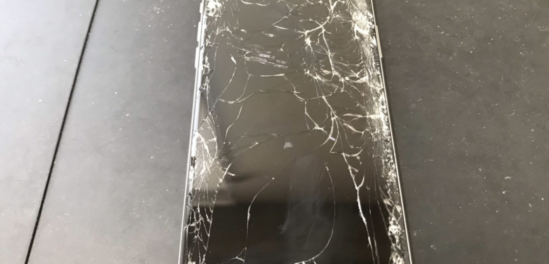 修理前のiPhoneXS