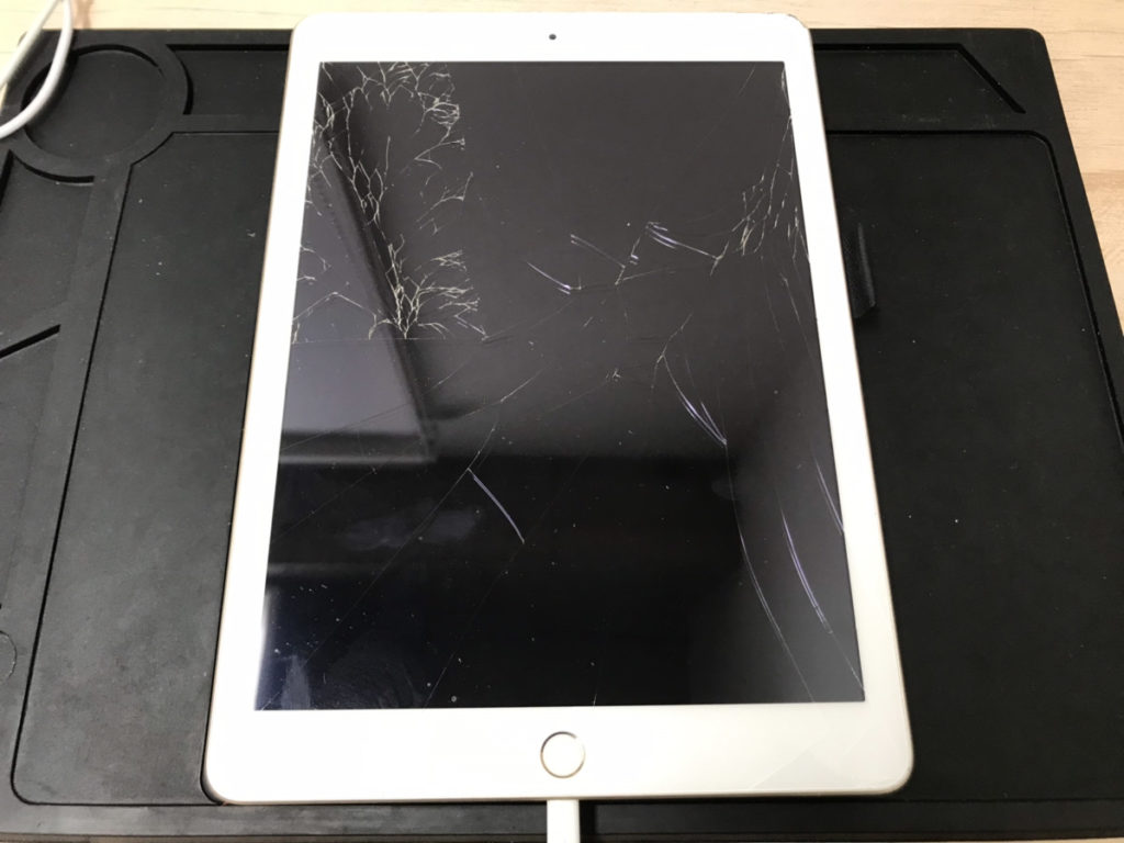 修理前のiPad5