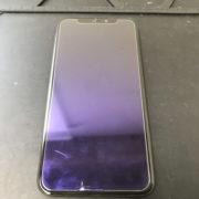 液晶が映らないiPhoneXSの画面