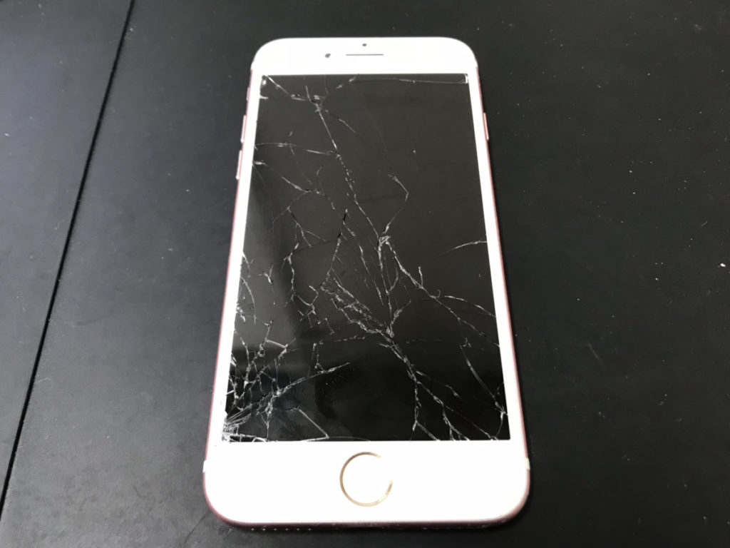 修理前のiPhone7