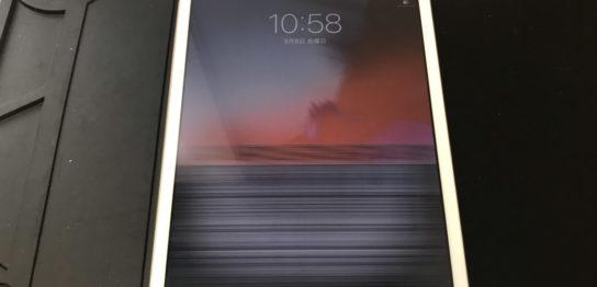 液晶交換前のiPad mini3