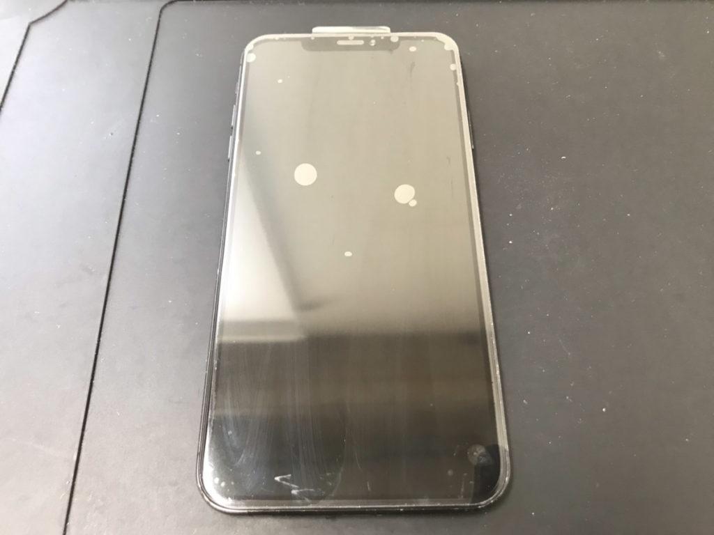 画面交換後のiPhoneXSMax