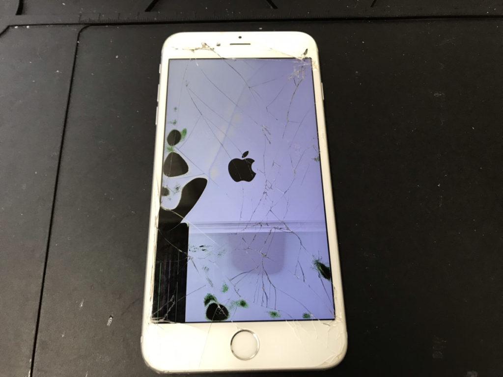 修理前のiPhone6sPlus