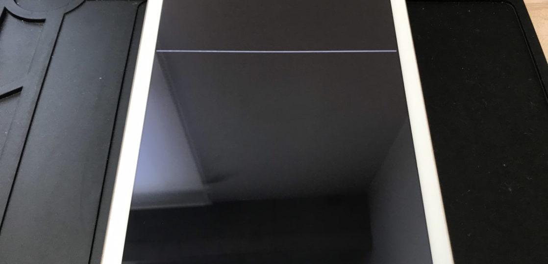 液晶修理前のiPad(第5世代)