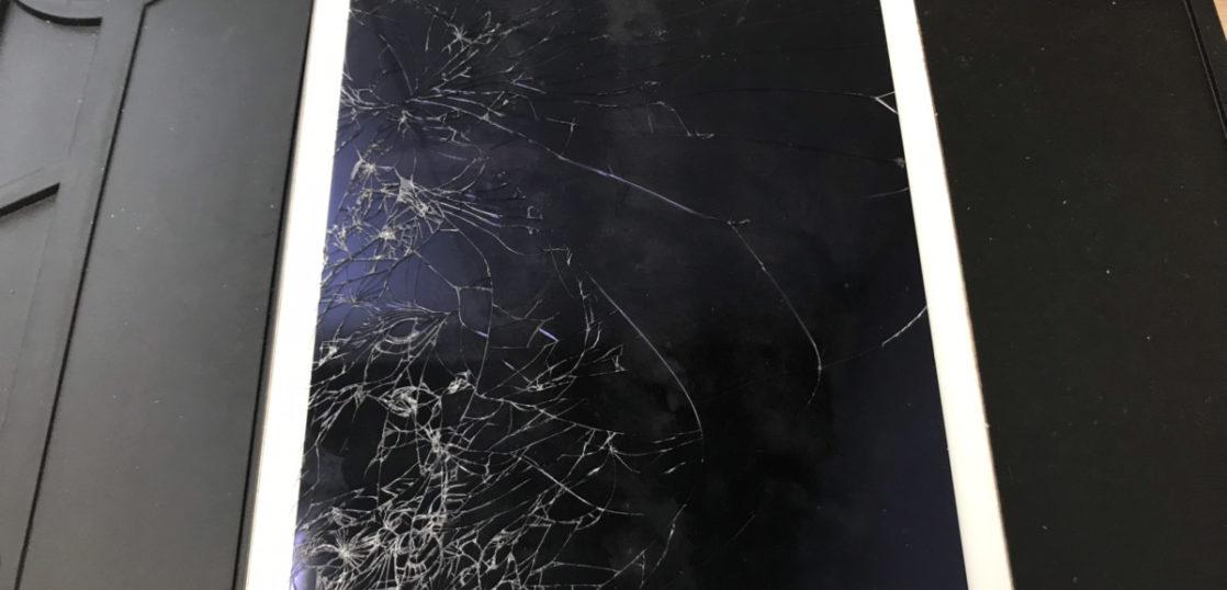 画面修理前のiPad Air2