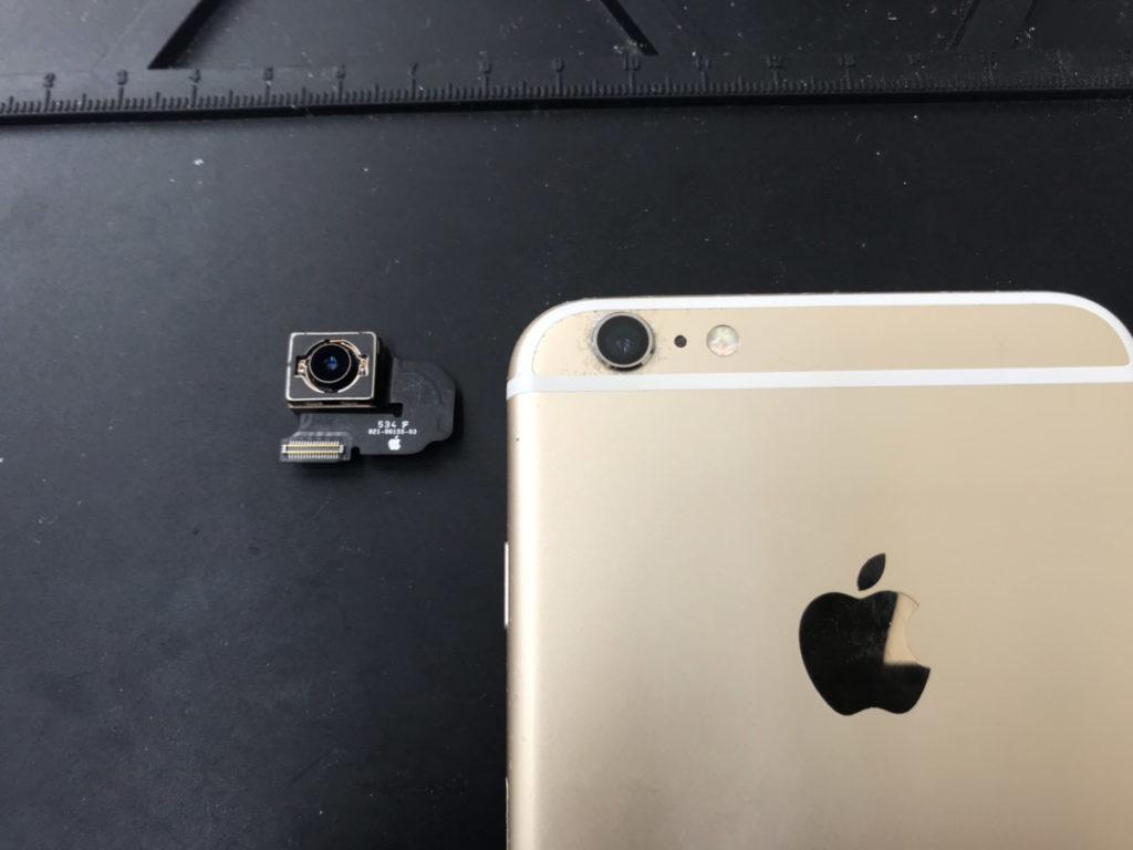 カメラ修理後のiPhone6sPlus