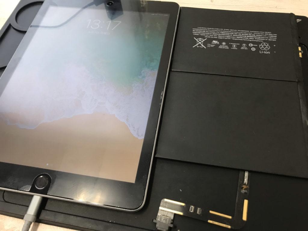 修理後のiPad第6世代