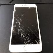 画面修理前のiPhone6Plus