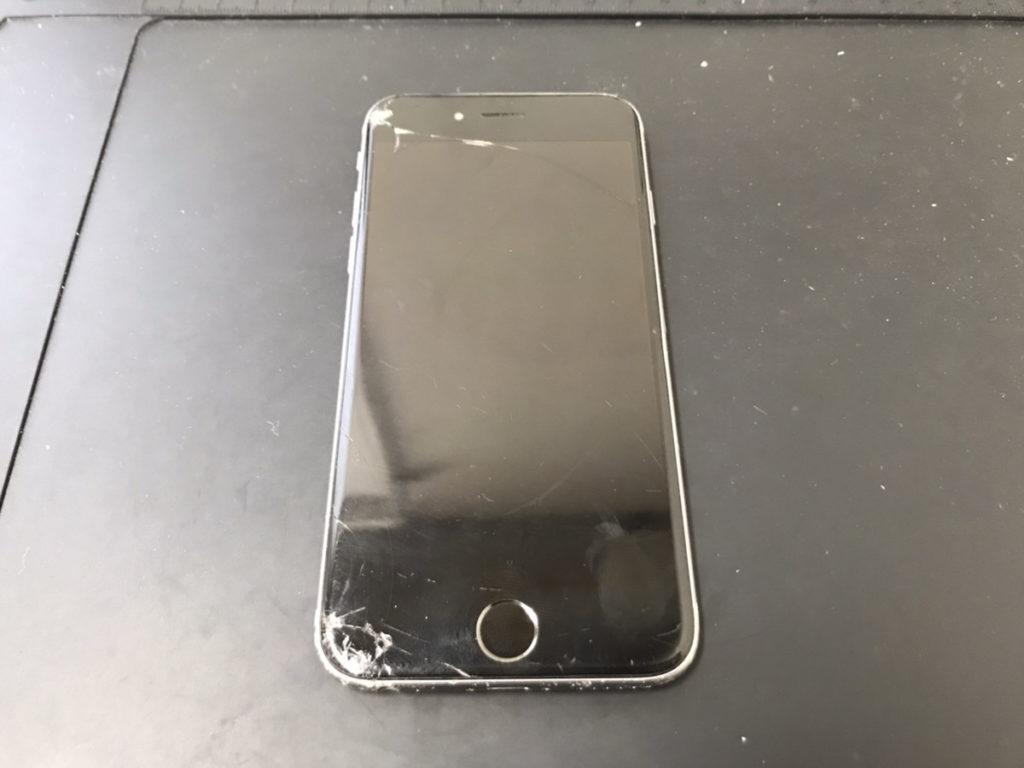 水没修理前のiPhone6s