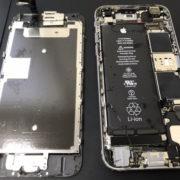 分解時のiPhone6s