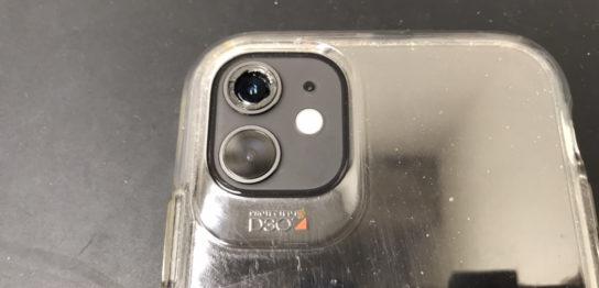 カメラレンズ修理前のiPhone11
