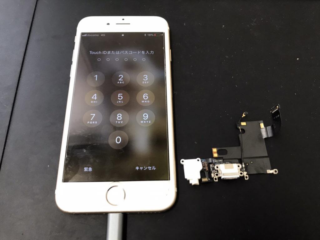 マイク修理後のiPhone6