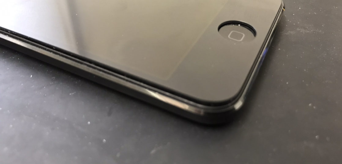バッテリー交換前のiPod Touch6