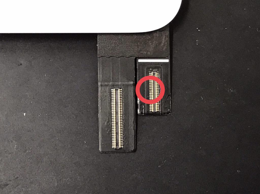 iPad mini4のコネクター