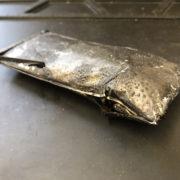 発火したiPhone6sPlusのバッテリー