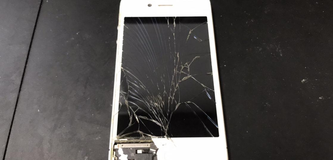 画面修理前のiPhone4s