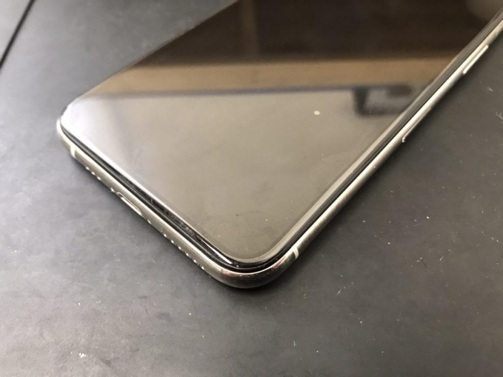 画面修理後のiPhone11Pro