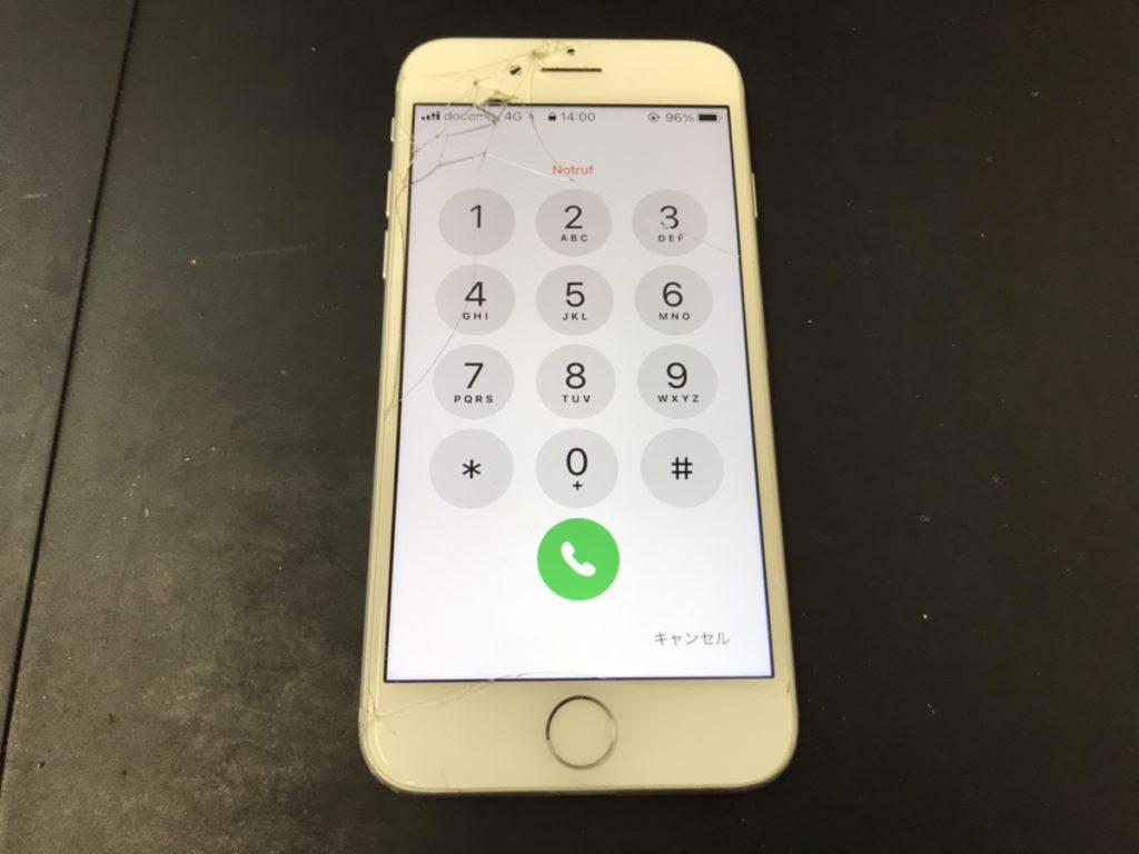 水没修理後のiPhone7