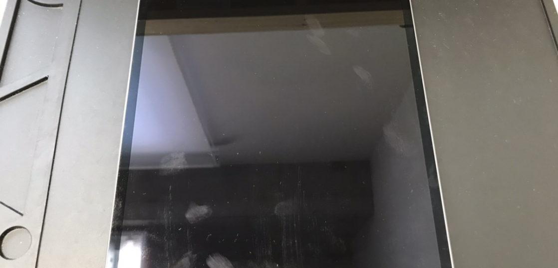 液晶修理前のiPad Pro10.5