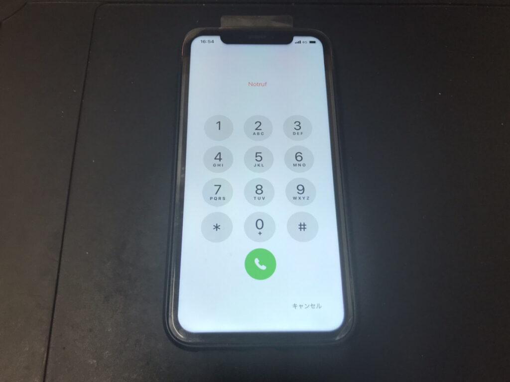 修理後のiPhoneXR