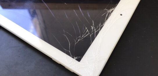 画面修理前のiPad第5世代