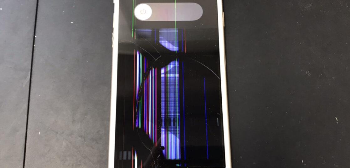 画面修理前のiPhone6